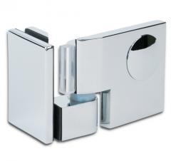 Дверная петля для душевых кабин Plan artist 90° упор DIN слева
