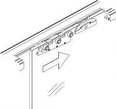 Набор фурнитуры для раздвижных дверей