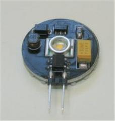 1,2В LED лампочка с цоколем G4, Холодный белый