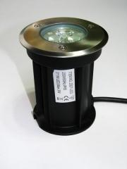 Утопляемый LED светильник, 3В, 220VAC, Тёплый белый