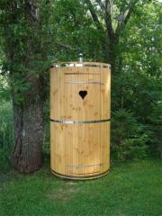 Кабины туалетные деревянные