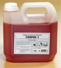 Жидкое моющее средство для мытья поверхностей UNIPOL 7