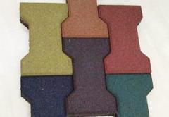 Плитка напольная резиновая