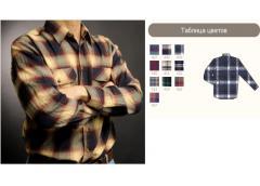 Рубашки фланелевые