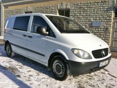 Грузовой микроавтобус Mercedes-Benz Vito MIXTO 6-kohta 2.2 70kW