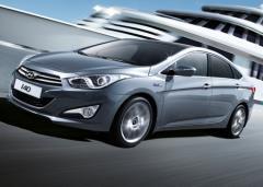 Автомобиль Hyundai i40 седан