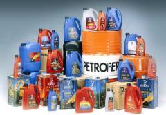 Смазочные материалы Petrofer