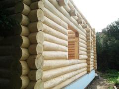 Дома деревянные из сруба