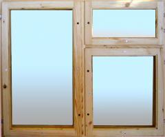 Рамы оконные деревянные по спецификации заказчика