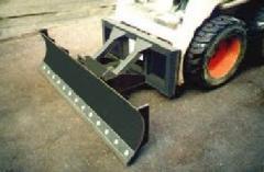 Бульдозерное оборудование для мини погрузчиков