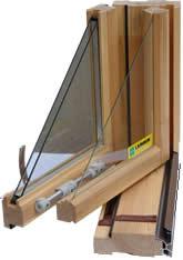 Окна из дерева (финский вариант)