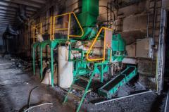 Производственная линия по изготовлению древесн-угольного брикета