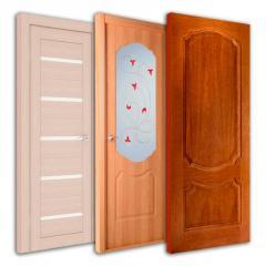 Эко-шпонированные двери