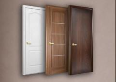 Двери ламинированные ПВХ плёнкой