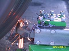 Мобильный станок для обточки колес тепловозов 1AK200 ZIP