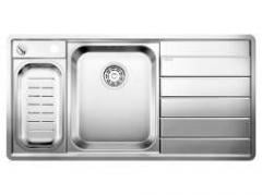 Кухонная мойка BLANCO AXIS II 6 S-IF Edition з. полировка (чаша слева)