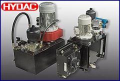 Гидравлические станции и системы смазки
