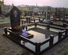 Гранитные ограды, на могилу, на кладбище, для