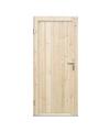Утеплённая дверь садового домика