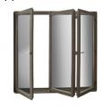 Раздвижные и складные террасные двери