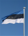 Эстонский флаг национальный флаг