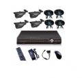 Системы видеонаблюдения DVR kit with 4 Cameras KT46