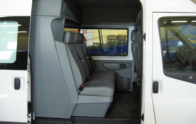 Заказать Установка дополнительных окон в микроавтобусах