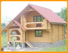 Заказать Строительство деревянных домов, коттеджей