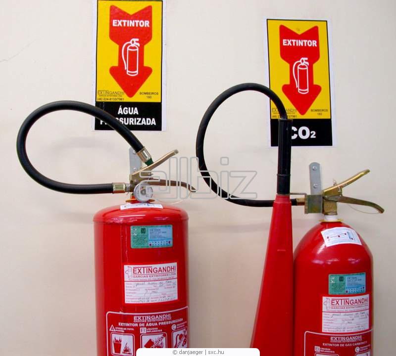 Заказать Контроль огнетушителей