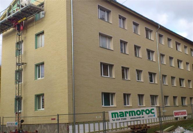 Заказать Утепление фасадов квартирных товариществ