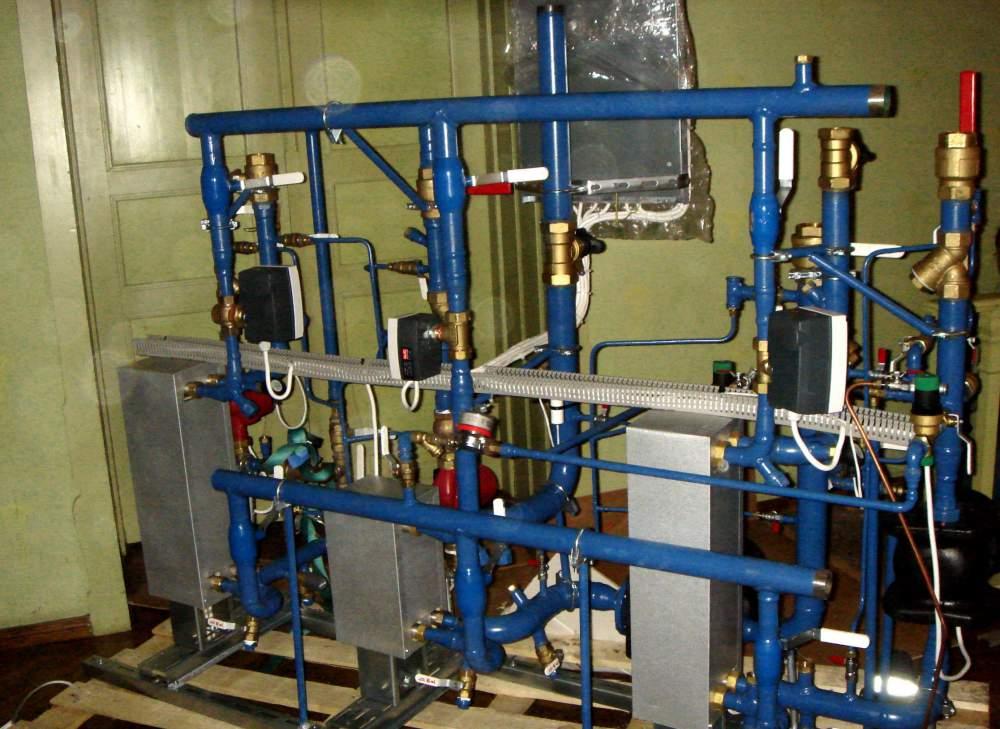 Заказать Монтаж систем отопления всех видов