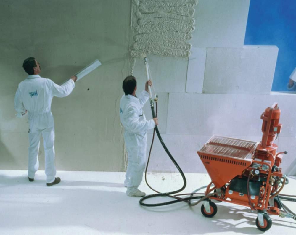 Заказать Фасадные штукатурные работы