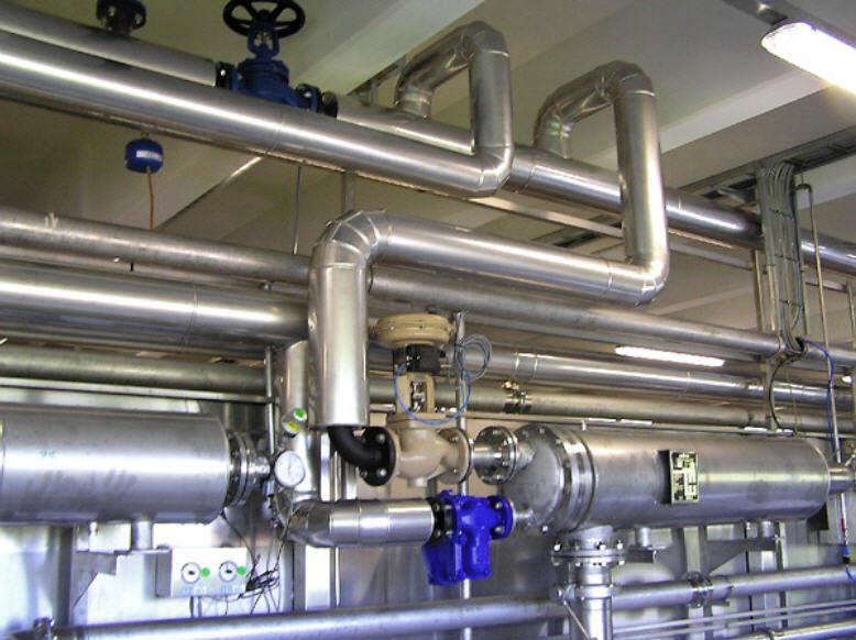 Заказать Теплоизоляция трубопроводов, водопроводов