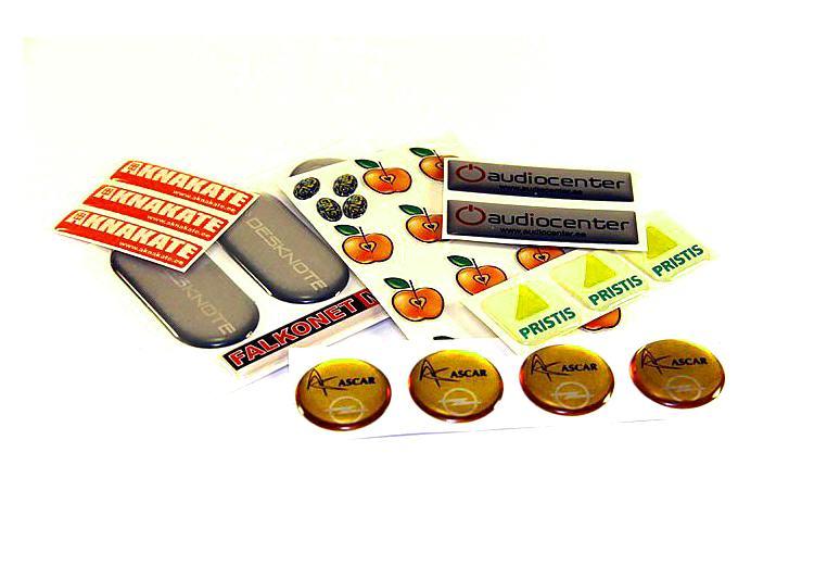Заказать Дизайн и печать рекламной продукции, объемных наклеек