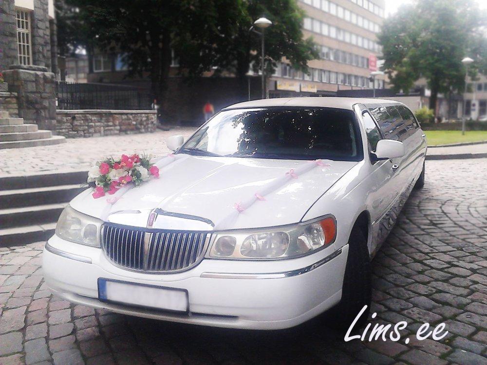 Заказать Аренда свадебного лимузина с водителем