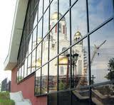 Тонирование стекол на зданиях
