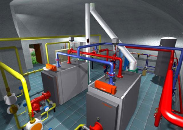 Заказать Проектирование газовых котельных