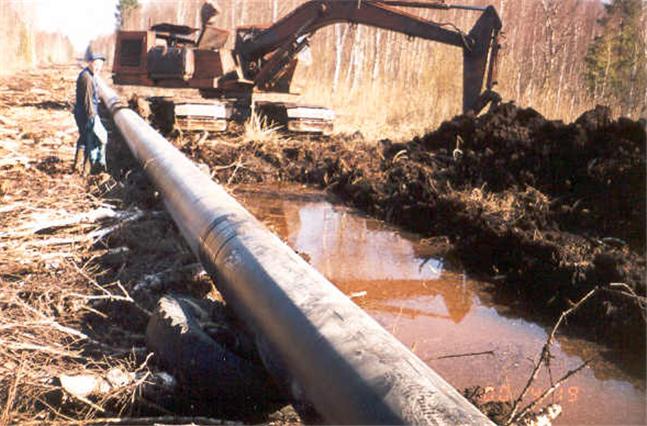 Заказать Строительство газопроводов