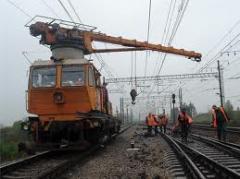 Ремонт и обслуживание железнодорожных путей