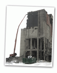 Услуги по сносу и реновации зданий