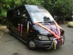Автотранспортное обслуживание свадеб