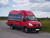 Перевозка пассажиров микроавтобусами