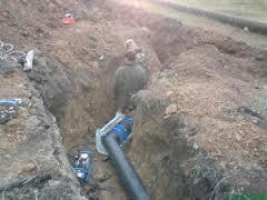 Строительство водопроводных сетей