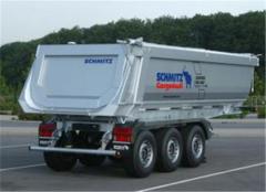 Аренда самосвального прицепа Schmitz Cargobull / SAF / BPW