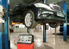 Ремонт автомобильных кондиционеров