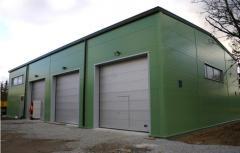 Строительство складских помещений и промышленных зданий