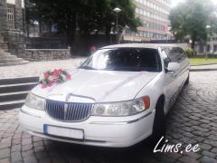 Аренда свадебного лимузина с водителем
