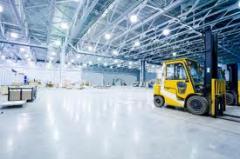 Размещение грузов на складах временного хранения и
