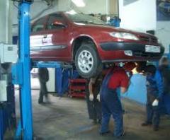 Услуги по ремонту транспортных средств
